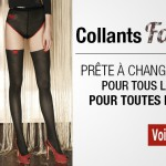 Collant femme et fillette sur internet