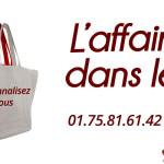 Grossiste sac personnalisable en coton